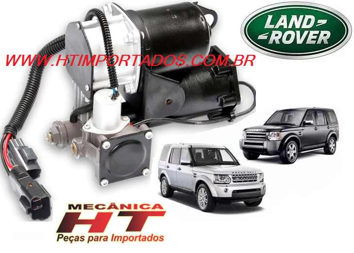 Compressor Suspensão Land Rover Discovery 3/4  2005/2014-remanufaturado - DoLove